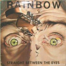 Discos de vinilo: RAINBOW STRAIGHT BETWEEN THE EYES LP POLYDOR 1982. Lote 67086897