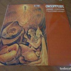 Discos de vinilo: DISCO DE VINILO COCENTAINA MOROS Y CRISTIANOS BANDA UNION MUSICAL CONTESTANA 1980. Lote 67088113