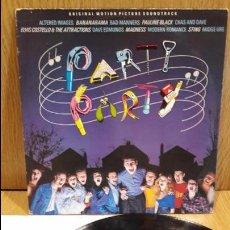 Discos de vinilo: B.S.O. PARTI PARTY. VARIOS ARTISTAS O GRUPOS. LP / A&M RECORDS - 1982 / MBC. ***/***. Lote 67089061