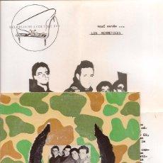 Discos de vinilo: LOS HERMETICOS - ESTUPEFACTO. SINGLE 1986. Lote 67116941