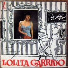 Discos de vinilo: LOLITA GARRIDO - EP - 1960 - UE UE UE / PIDE / ATENCION CORAZON / TIENES MI AMOR. Lote 67134297