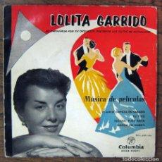 Discos de vinilo: LOLITA GARRIDO-EP-1959-PELICULAS/EL AMOR EMPIEZA EN SABADO/TU Y YO/SUSANA, PURA NATA/NACIDA EN MARZO. Lote 67136833