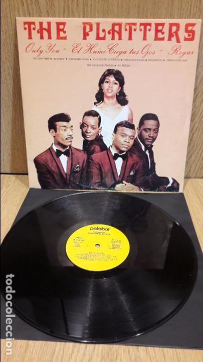 THE PLATTERS. MISMO TÍTULO. LP / PALOBAL - 1981 / MBC. ***/*** (Música - Discos - LP Vinilo - Funk, Soul y Black Music)