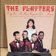 Discos de vinilo: THE PLATTERS. MISMO TÍTULO. LP / PALOBAL - 1981 / MBC. ***/***. Lote 67171853