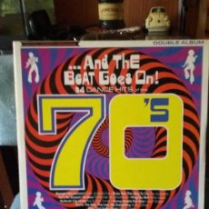 Discos de vinilo: ...AND THE BEAT GOES ON!. Lote 67175145