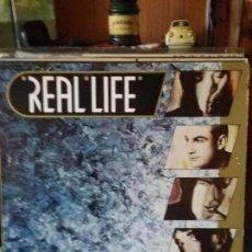 Discos de vinilo: REAL LIFE ?– FLAME. Lote 67177701