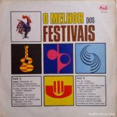 Discos de vinilo: O MELHOR DOS FESTIVAIS. LENY EVERSONG, C. HENRIQUE, TRIO PRELUDIO, THEREZA KURY....LP BRASIL. Lote 67181173
