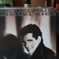 Discos de vinilo: MIGUEL RÍOS ?– DIRECTO AL CORAZÓN. Lote 67182593