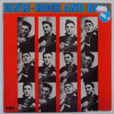 Discos de vinilo: ELVIS PRESLEY: ROCK AND ROLL VOL 3. RCA 1977, NUNCA ESCUCHADO. Lote 67242061