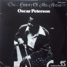Discos de vinilo: OSCAR PETERSON (PIANO): THE HISTORY OF AN ARTIST (2 LP) DISCOS PABLO 1974 SIN ESCUCHAR. Lote 67307817