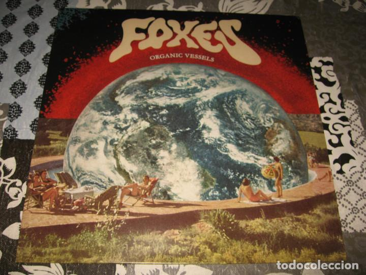 LP FOXES ORGANIC VESSELS LIMITED EDITION 350 COPIES (Música - Discos - LP Vinilo - Punk - Hard Core)