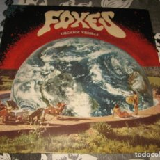 Discos de vinilo: LP FOXES ORGANIC VESSELS LIMITED EDITION 350 COPIES. Lote 67312509