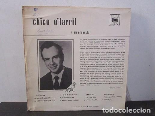 Discos de vinilo: Chico O´farril O Farril Y SU ORQUESTA CBS 7075 Vinilo Lp T61 VG-/VG - Foto 2 - 67320017