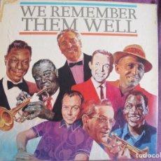 Discos de vinilo: LP - WE REMEMBER THEM WELL - VARIOS (CAJA CON LP'S, ENGLAND, READER'S DIGEST SIN FECHA). Lote 67322637