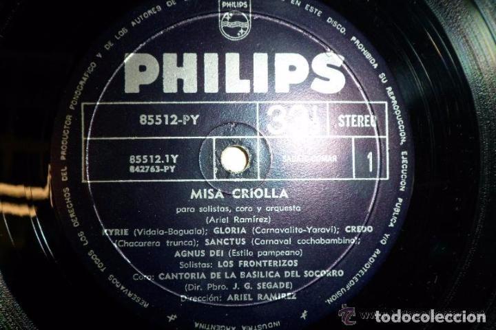 Discos de vinilo: MISA CRIOLLA. Y NAVIDAD NUESTRA POR ARIEL RAMIREZ - Foto 5 - 67344433
