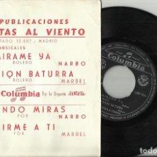 Discos de vinilo: ORQUESTA A.TORRES EP MIRAME YA + 3.1961. Lote 67356169