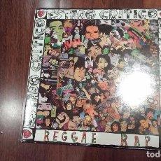 Discos de vinilo: ESTADO CRITICO-REGGAE RAP.MAXI. Lote 67356737