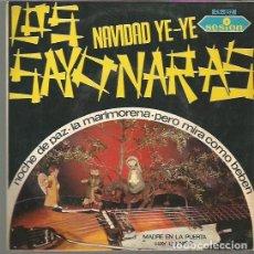 Discos de vinilo: LOS SAYONARA EP SELLO SESION AÑO 1966 EDITADO EN ESPAÑA. Lote 67357377