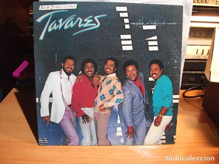 TAVARES NEW DIRECTIONS LP RCA 1982 NEW YORK USA CARTON USA PEPETO (Música - Discos de Vinilo - EPs - Funk, Soul y Black Music)
