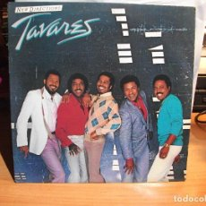 Discos de vinilo: TAVARES NEW DIRECTIONS LP RCA 1982 NEW YORK USA CARTON USA. Lote 67358061