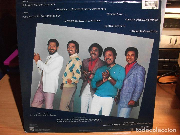 Discos de vinilo: TAVARES NEW DIRECTIONS LP RCA 1982 NEW YORK USA CARTON USA PEPETO - Foto 2 - 67358061