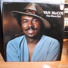 Discos de vinilo: VAN MCCOY THE DISCO KID LP 1976 PHILIPS EDICION ESPAÑOLA EXCELENTE ESTADO. Lote 67360013