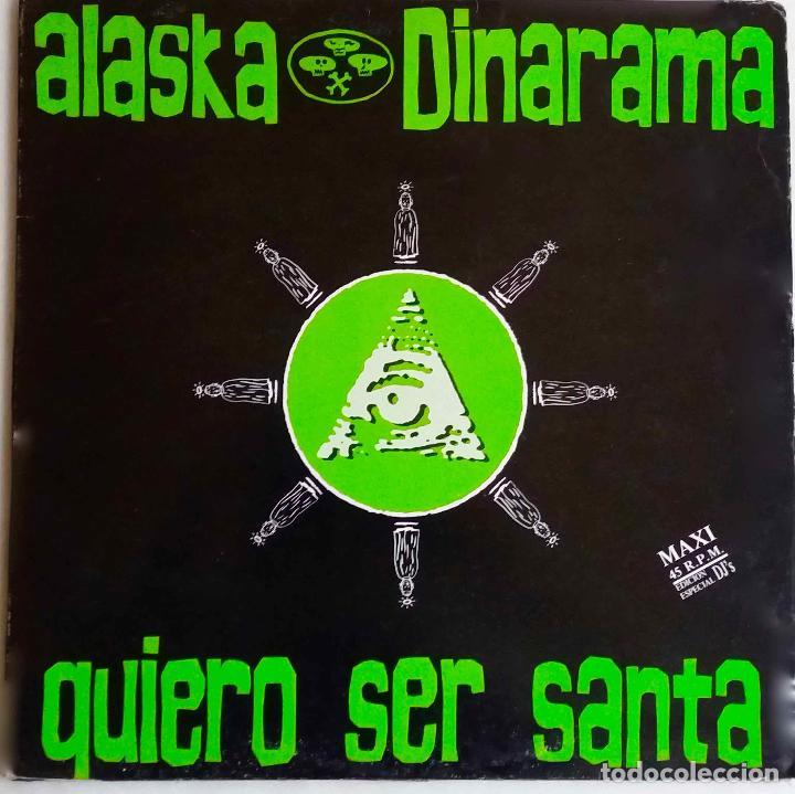 ALASKA Y DINARAMA. QUIERO SER SANTA. MAXI SINGLE 4 TEMAS (Música - Discos de Vinilo - Maxi Singles - Grupos Españoles de los 70 y 80)