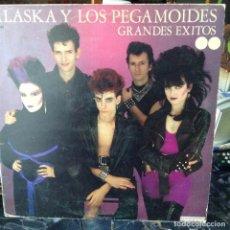 Discos de vinilo: ALASKA Y LOS PEGAMOIDES - GRANDES EXITOS - 1982 - HISPAVOX ?– S 60.722. Lote 67375141