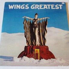 Discos de vinilo: WINGS - WINGS GREATEST - LP - 1978. Lote 67376313