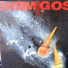 Discos de vinilo: LOS ENEMIGOS - LA VIDA MATA - 1990 - GRABACIONES ACCIDENTALES ?– 4GA0374. Lote 67378577