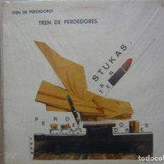 Discos de vinilo: STUKAS. TREN DE PERDEDORES. SOCIEDAD FONOGRÁFICA ASTURIANA. LSFA-112 LP 1986 SPAIN. Lote 67380925