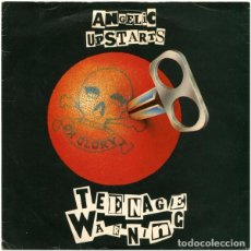 Discos de vinilo: ANGELIC UPSTARTS - TEENAGE WARNING - SG UK 1979 - WARNER BROS. RECORDS K 17426. Lote 67383341