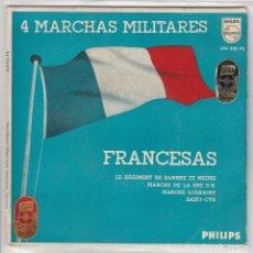 Discos de vinilo: 4 MARCHAS MILITARES FRANCESAS (BANDA DE L'ARMEE DE L''AIR (EP 1959). Lote 67383389