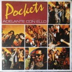 Discos de vinilo: POCKETS - ADELANTE CON ELLO . SINGLE . 1978 CBS. Lote 67385693