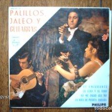 Discos de vinilo: PACO DE LUCIA Y RODRIGO MODREGO - PALILLOS, JALEO Y GUITARRAS - LA NIÑA DE PUERTA OSCURA + 3. Lote 67390957