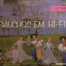 Discos de vinilo: LP CONJUNTO FARROUPILHA : GAUCHOS EN HI-FI ( BRASIL ). Lote 67421169