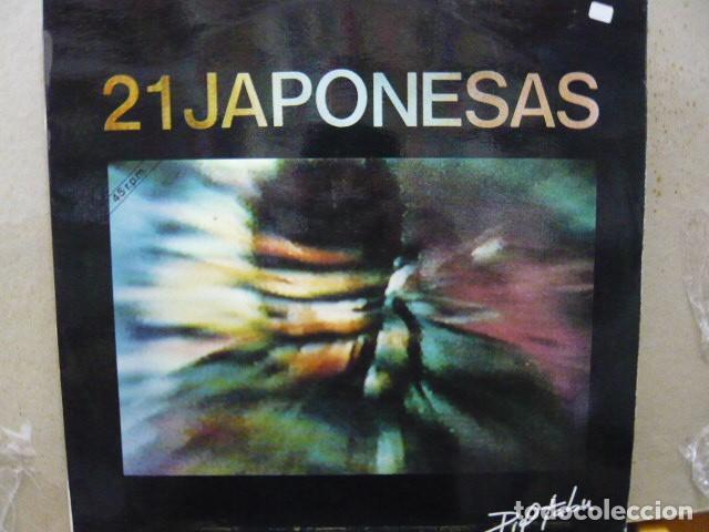 21 JAPONESAS. PIEL TABÚ / SED DE TÍ. DISCOS NOLA N-165 MAXI. 1988 SPAIN (Música - Discos de Vinilo - Maxi Singles - Grupos Españoles de los 70 y 80)