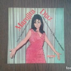 Discos de vinilo: SINGLE MARUJITA DIAZ, VERGARA 468-XC AÑO 1967. Lote 67426401
