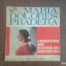 Discos de vinilo: SINGLE MARIA DOLORES PRADERA, ZAFIRO Z-E-678 AÑO 1967. Lote 67427465