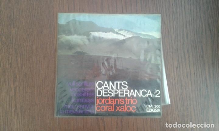 SINGLE CANTS D'ESPERANÇA EDIGSA CM 200 AÑO 1967 (Música - Discos de Vinilo - Maxi Singles - Grupos Españoles 50 y 60)