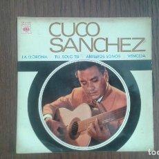 Discos de vinilo: SINGLE CUCO SANCHEZ, CBS EP 6328 AÑO 1967. Lote 67440229