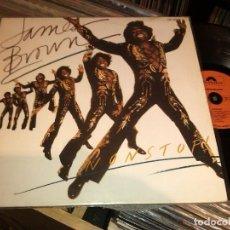 Discos de vinilo: JAMES BROWN – NONSTOP LP FRANCE 1981. Lote 67441365