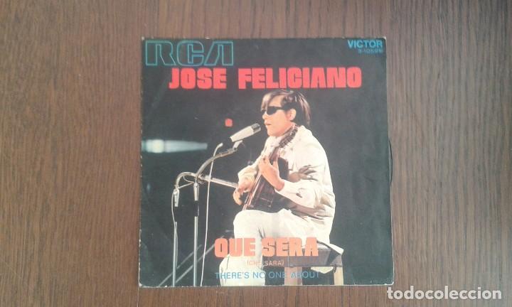 SINGLE JOSÉ FELICIANO, RCA 3-10596 AÑO 1971 (Música - Discos de Vinilo - Maxi Singles - Grupos Españoles 50 y 60)