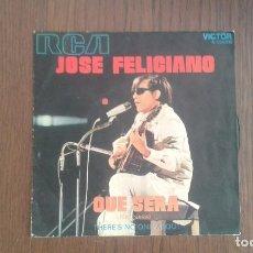 Discos de vinilo: SINGLE JOSÉ FELICIANO, RCA 3-10596 AÑO 1971. Lote 67443037