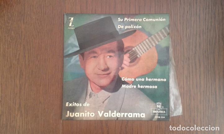 SINGLE JUANITO VALDERRAMA, MONTILLA EPFM-234 AÑO 1962 (Música - Discos de Vinilo - Maxi Singles - Grupos Españoles 50 y 60)