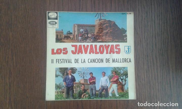 SINGLE LOS JAVALOYAS, EMI 7EPL 14.180 AÑO 1965 (Música - Discos de Vinilo - Maxi Singles - Grupos Españoles 50 y 60)