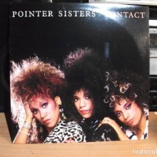 Discos de vinilo: POINTER SISTERS - CONTACT - LP - RCA 1985 USA NUEVO¡¡. Lote 195455533