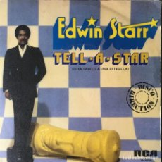 Discos de vinilo: EDWIN STARR - TELL-A-STAR (CUÉNTASELO A UNA ESTRELLA) . SINGLE . 1980 20TH CENTURY FOX RECORDS. Lote 67467625