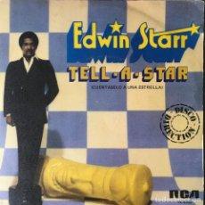 Disques de vinyle: EDWIN STARR - TELL-A-STAR (CUÉNTASELO A UNA ESTRELLA) . SINGLE . 1980 20TH CENTURY FOX RECORDS. Lote 67467625