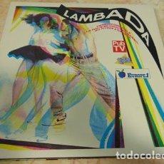 Discos de vinilo: VARIOS - LAMBADA - DOBLE LP. Lote 67493125